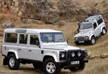 Land Rover factory in Eastern Europe