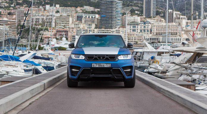 Larte Design Range Rover Sport Stuns in Monaco