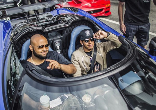 Lewis Hamilton Joins Gumball 3000 In Koenigsegg Agera Hh