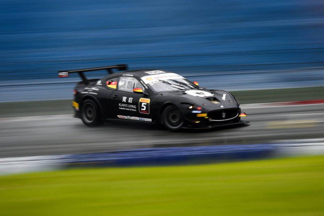 Black Maserati Trofeo