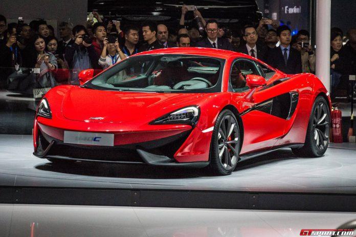 McLaren 540C won't be sold in USA