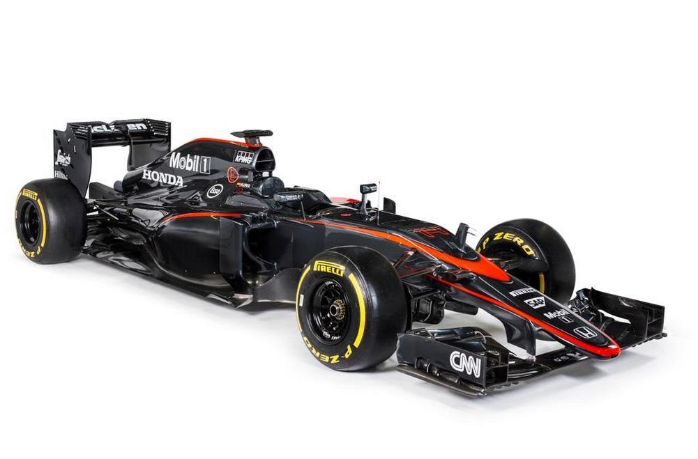 McLaren-Honda reveals new F1 livery