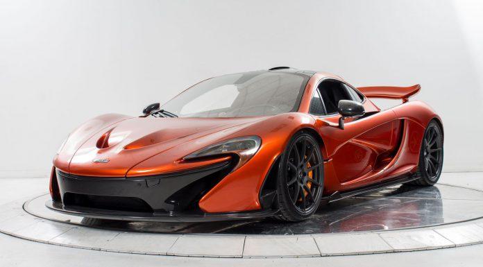 McLaren P1 For Sale in Long Island front