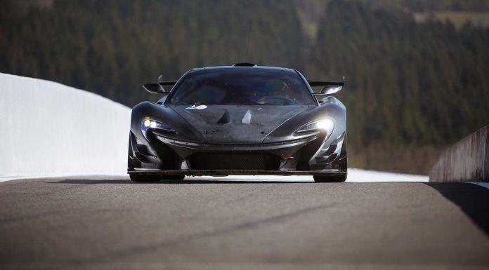 McLaren P1 GTR Headlines Pure McLaren 2015 at Spa