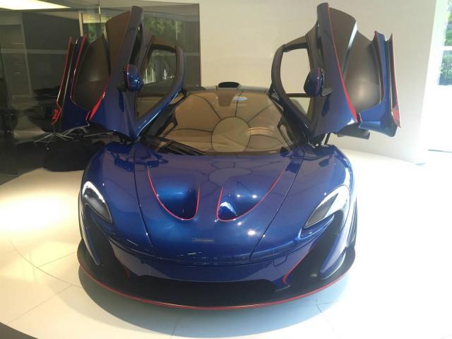 David Kyte McLaren P1 by MSO