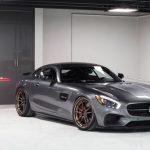 Mercedes-AMG GT S Rides on Matte Bronze ADV.1 Wheels