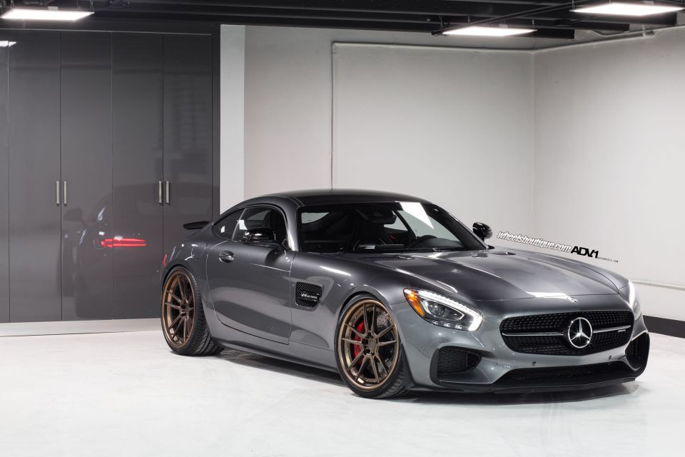 mercedes amg gt s rides on matte bronze adv 1 wheels gtspirit. Black Bedroom Furniture Sets. Home Design Ideas