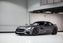 Mercedes-AMG GT S Rear Side ADV.1 Wheels