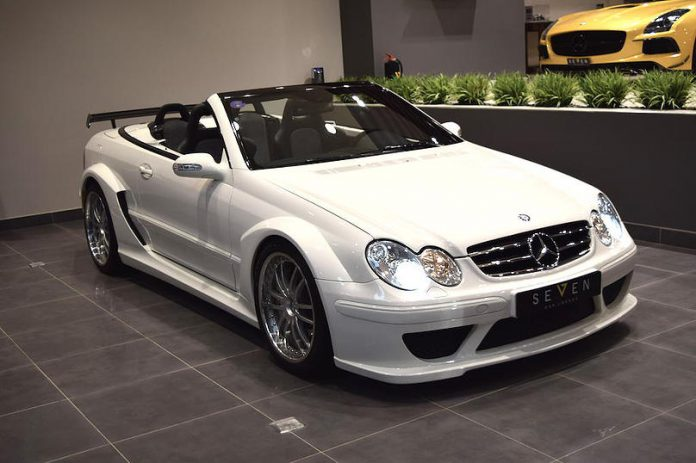 Rare Mercedes-Benz CLK DTM AMG Convertible for sale