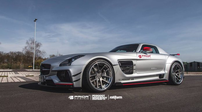 Official: Prior Design Mercedes-Benz SLS AMG PD900GT Widebody