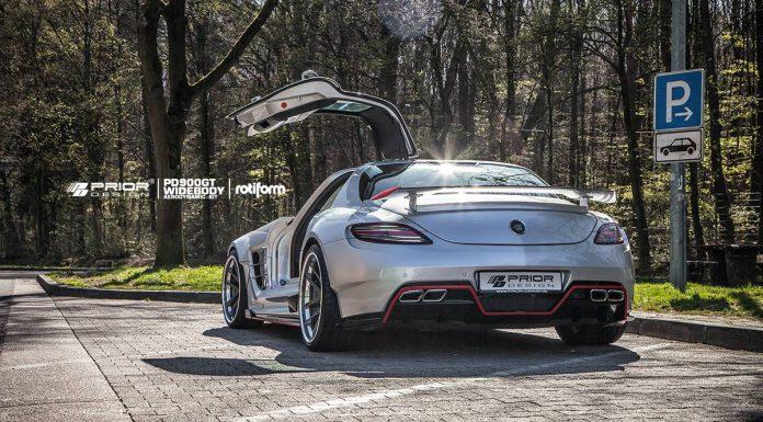 Prior Design Mercedes-Benz SLS AMG Rear
