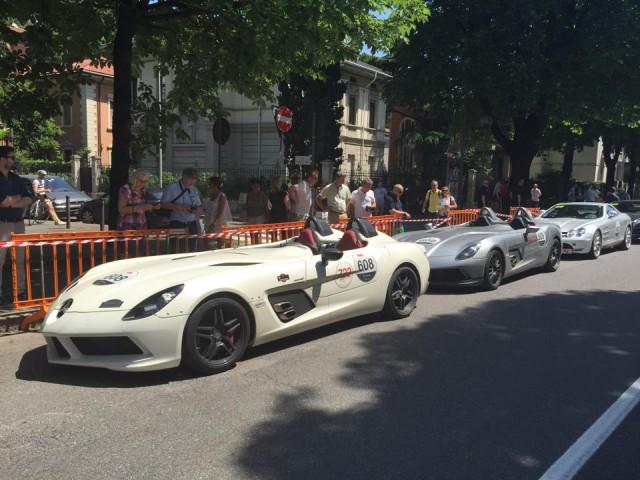 Mercedes-Benz SLR Stirling Moss McLaren Mille Miglia 2015