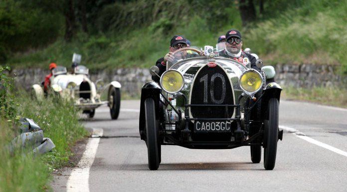 Mille Miglia 2015 Bugatti