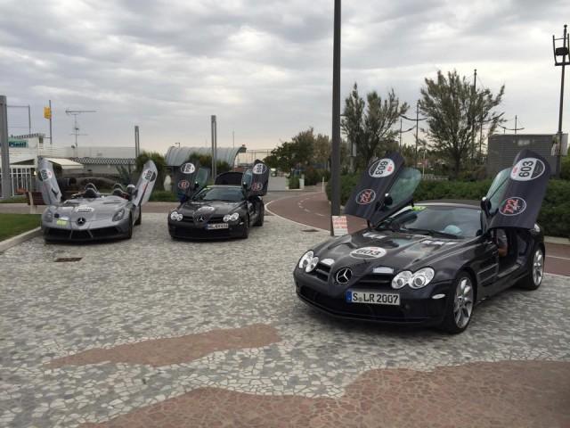 Mille Miglia 2015 Day 2 Mercedes-Benz SLR
