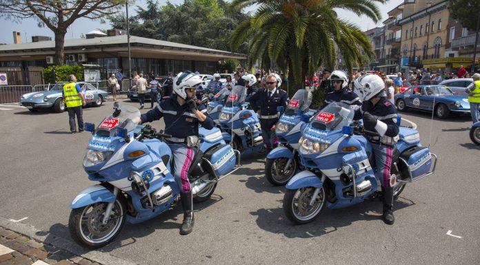 Mille Miglia 2015 Polizia