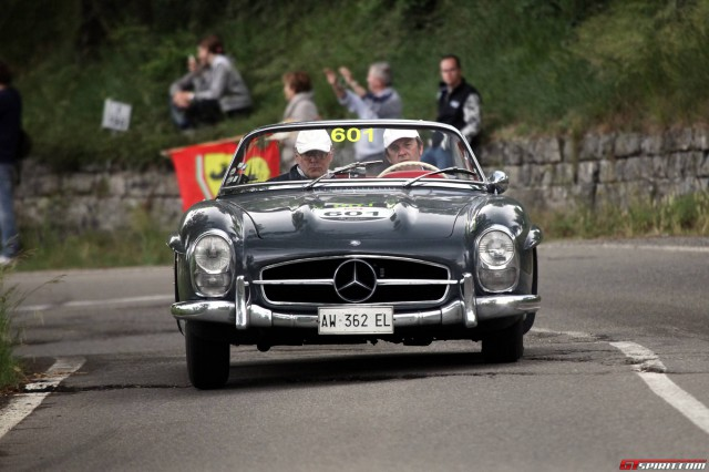 Mille Miglia 2015 Team 601 Mercedes-Benz 300 SL Convertible