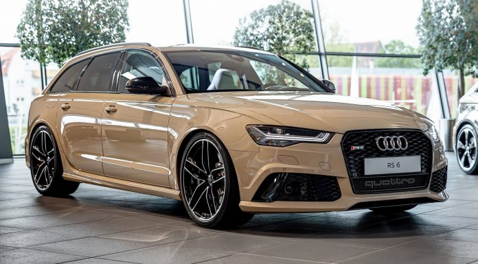 Mocha Latte Audi RS6 Avant by Audi Exclusive