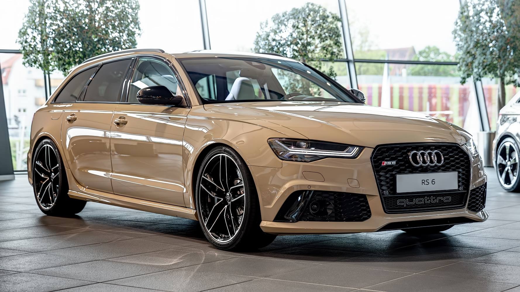 mocha latte audi rs6 avant by audi exclusive gtspirit. Black Bedroom Furniture Sets. Home Design Ideas
