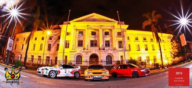 2015 Nairobi Auto Festival Celica GT4 Subaru STI