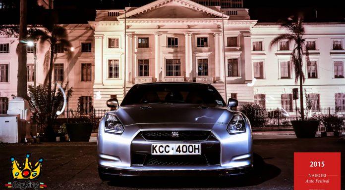 2015 Nairobi Auto Festival Nissan GT-R
