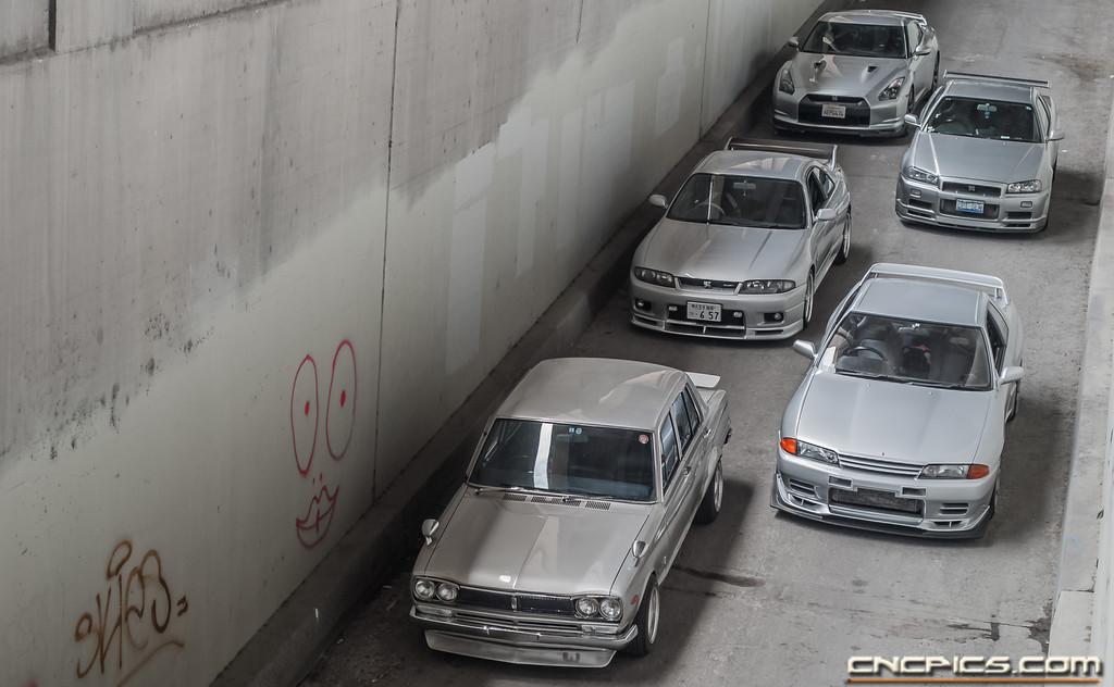 Nissan Skyline Generation