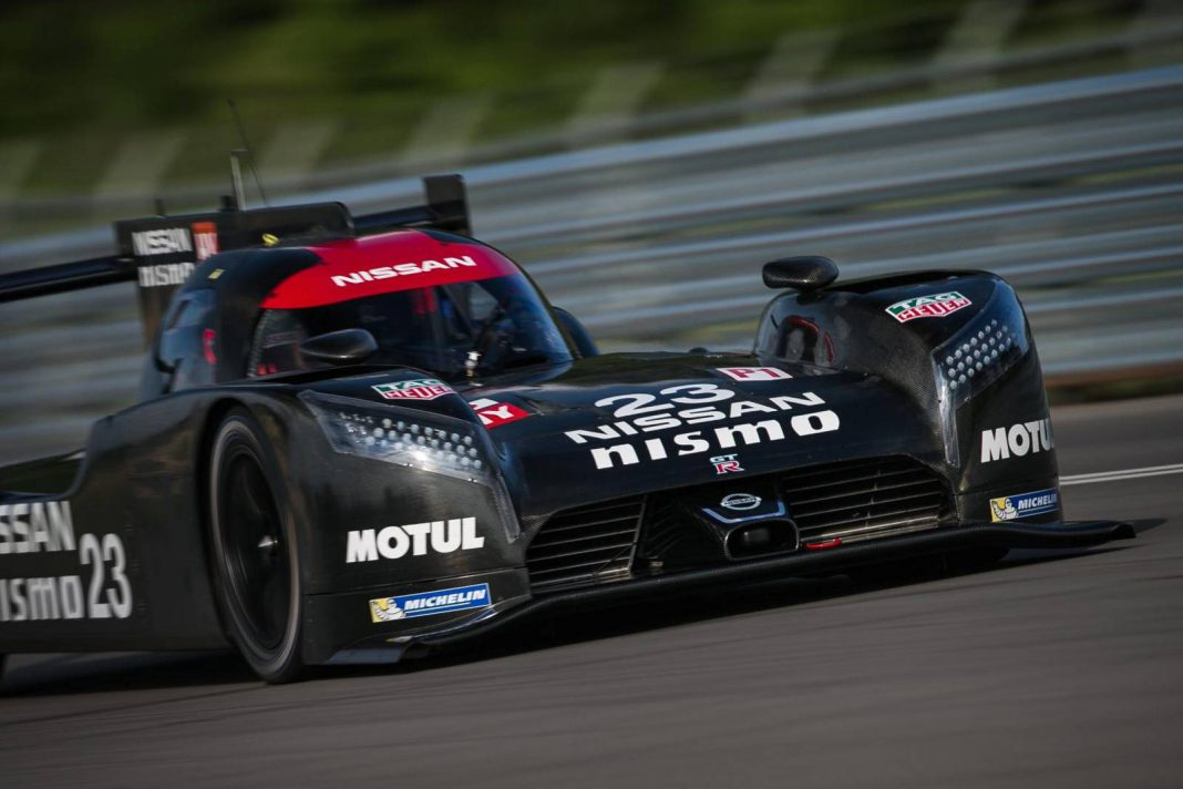 Black Nissan GT-R LM NISMO