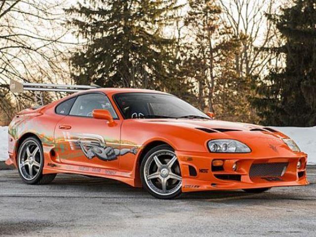 Paul Walker's Toyota Supra auction