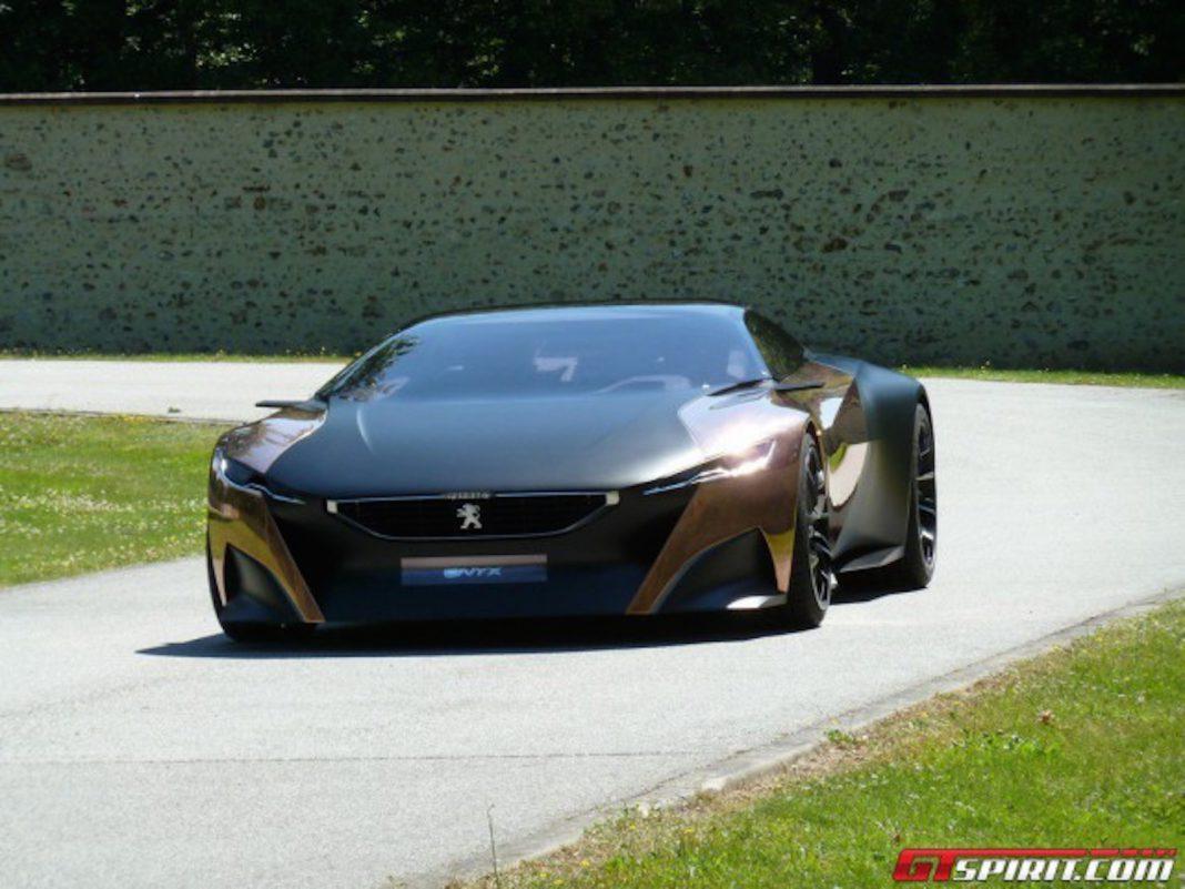 Peugeot Onyx Concept Car