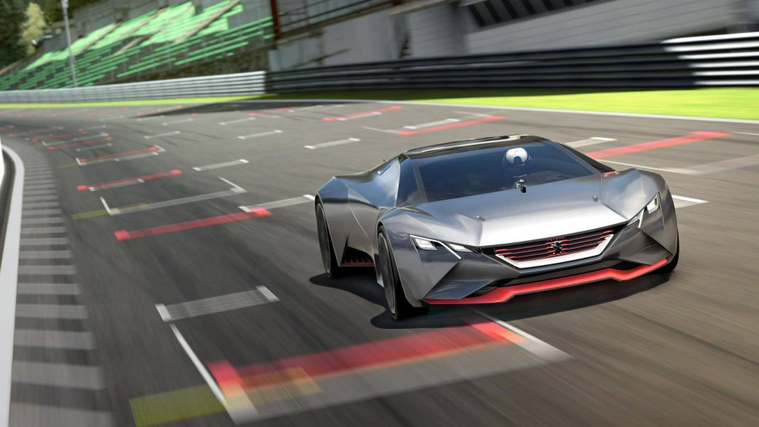 Peugeot Vision Gran Turismo Front
