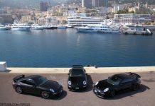 Three Porsche 911 GT3