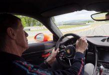 Walter Rohrl drives Porsche 911 GT3 RS