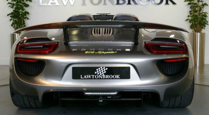 Porsche 918 Spyder for sale rear