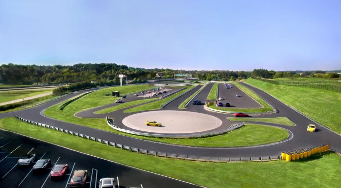 Porsche North America test track