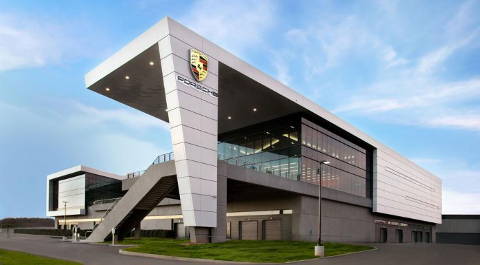 Porsche North America headquarters building