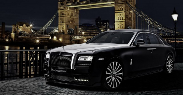 Rolls-Royce Ghost by Onyx Concept front
