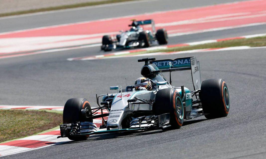 Formula 1 Spanish Grand Prix 2015 Mercedes-AMG Silver Arrows
