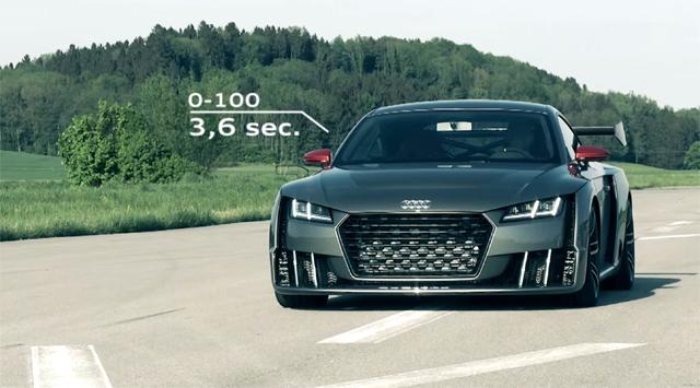 Audi TT Clubsport Turbo Concept video