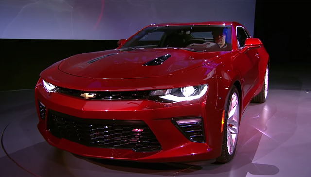 2016 Chevrolet Camaro live debut highlights