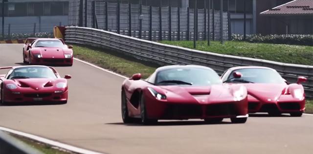 Ferrari F40, Ferrari F50, Ferrari Enzo, Ferrari LaFerrari