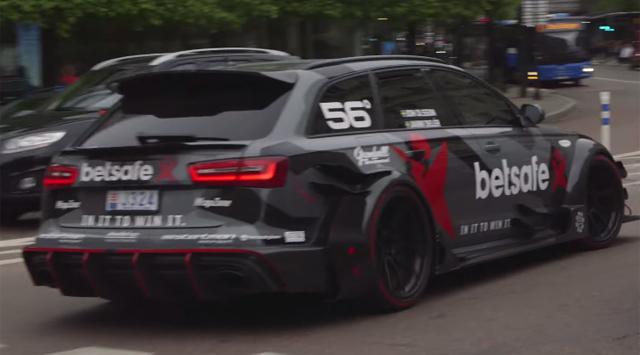 Jon Olsson Audi RS6 in Stockholm