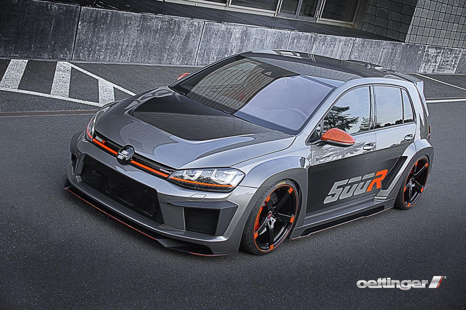 official 510hp volkswagen golf r500 by oettinger gtspirit. Black Bedroom Furniture Sets. Home Design Ideas