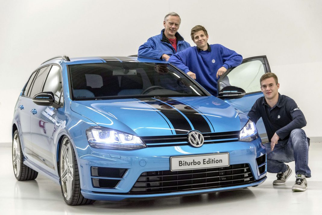 Volkswagen Golf Variant Biturbo Concept Worthersee 2015