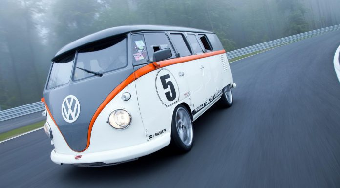 500 hp  Volkswagen T1 by Fred Bernhard front