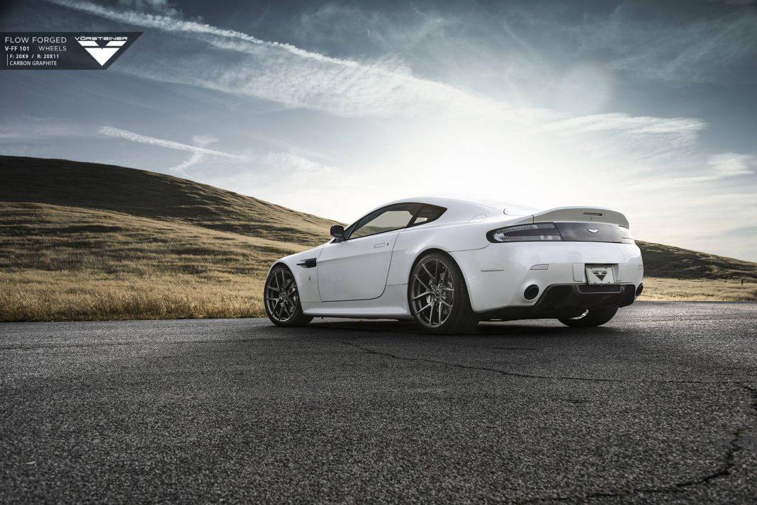 Aston Martin V8 Vantage Stuns on Vorsteiner Wheels