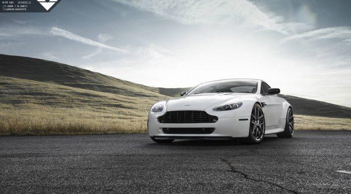 Aston Martin V8 Vantage front