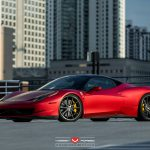 Vossen Wheels Ferrari 458 Italia Matte Red