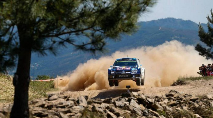 FIA WRC Rally Portugal VW Polo R WRC