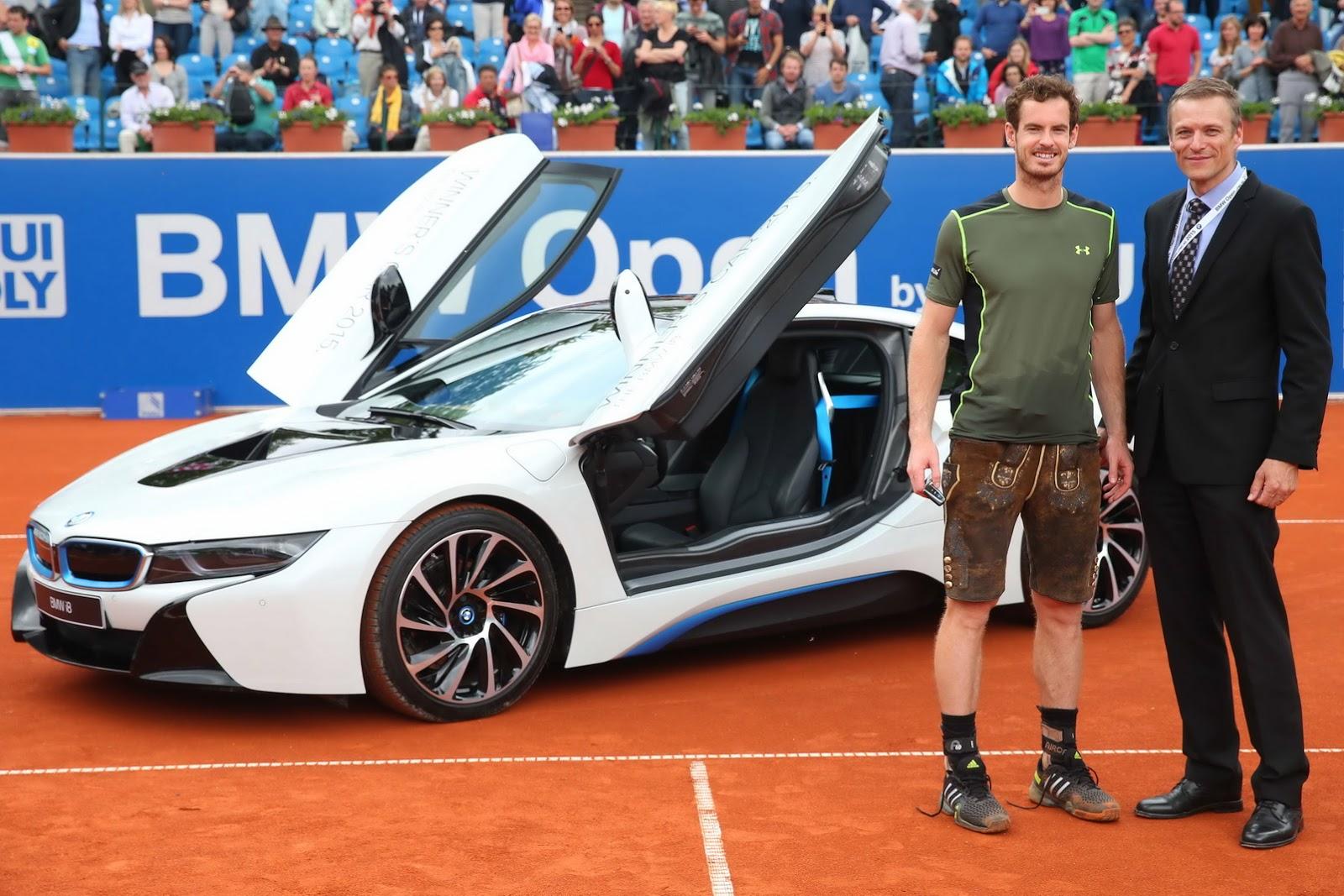 Andy Murray Awarded 2015 Bmw I8 Gtspirit