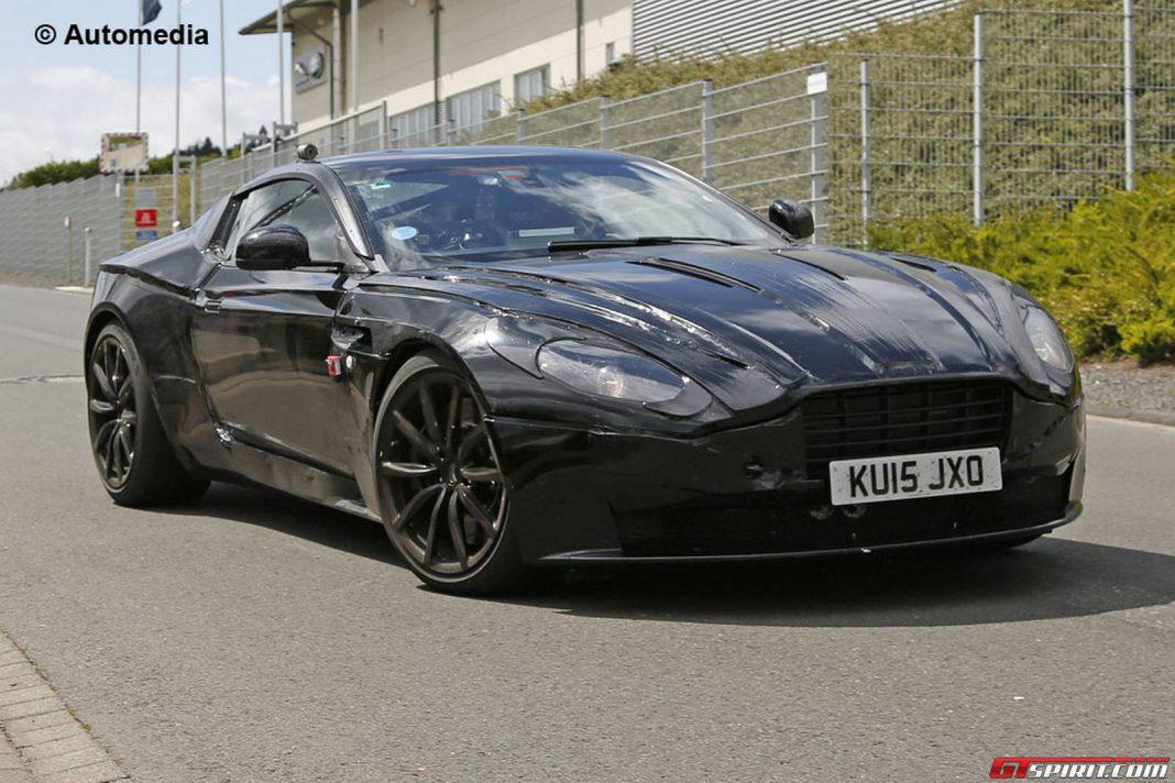 2017 Aston Martin DB11 Prototype Spy Shots