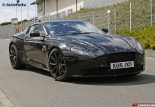2017 Aston Martin DB11 Prototype Spy Shots